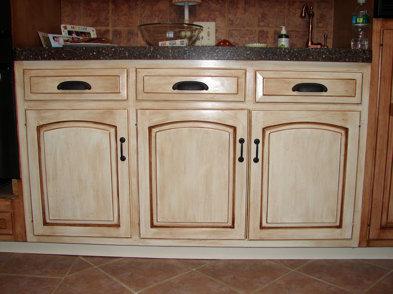 Kitchen Cabinet Paints And Glazes Kitchen Cabinet Painting Techniques